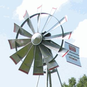 Windmills & Solar Aeration