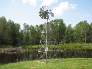 pond windmill